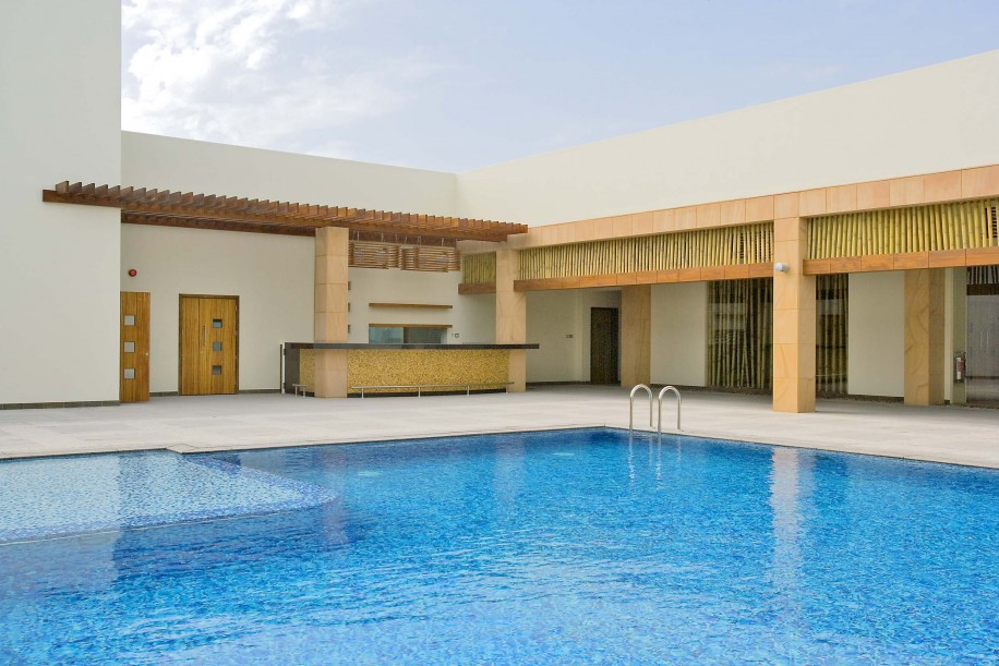 Regency Bahrain Outdoor Pool Construction built