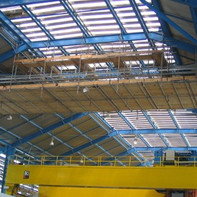 Alba Potline Expansion Scaffoldings
