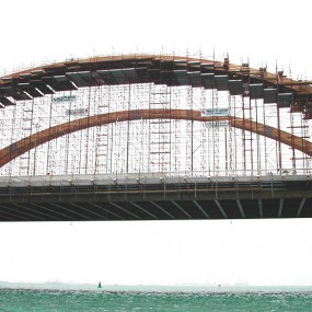 Sh. Khalifa Bridge Scaffoldings